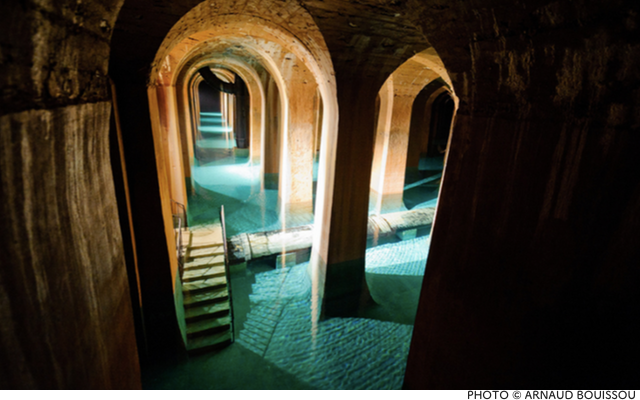Step into Paris's Secret Cathedral of Water